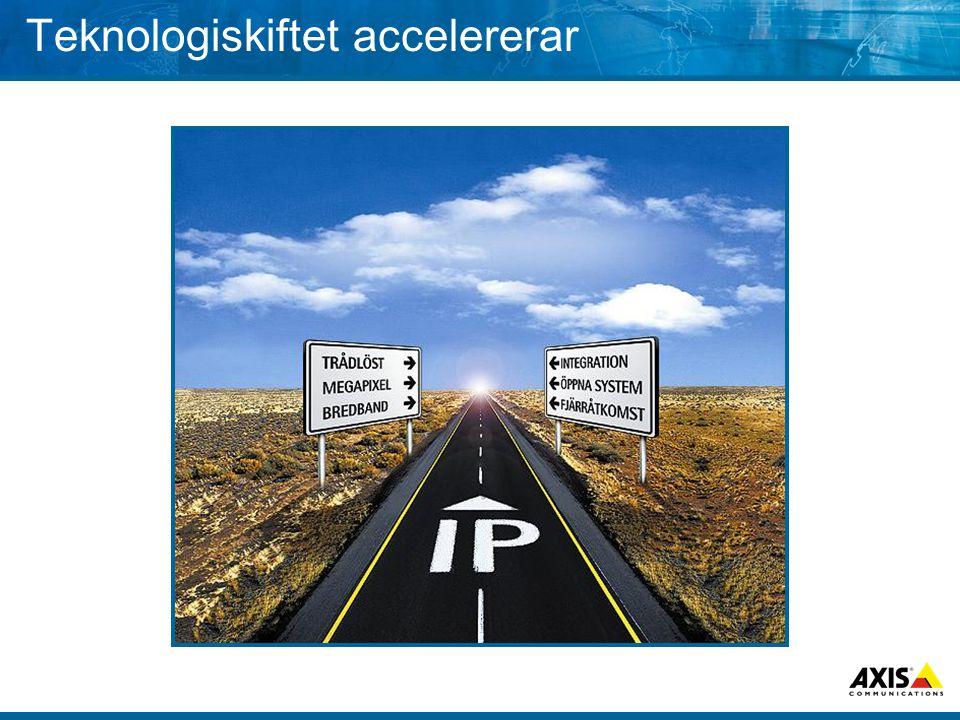 Teknologiskiftet accelererar
