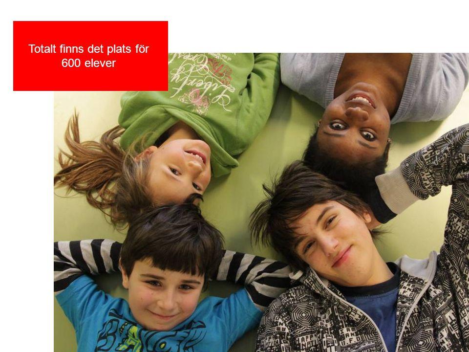 Även fritidsgården finns i huset På så vis integreras barnens skol- och fritid