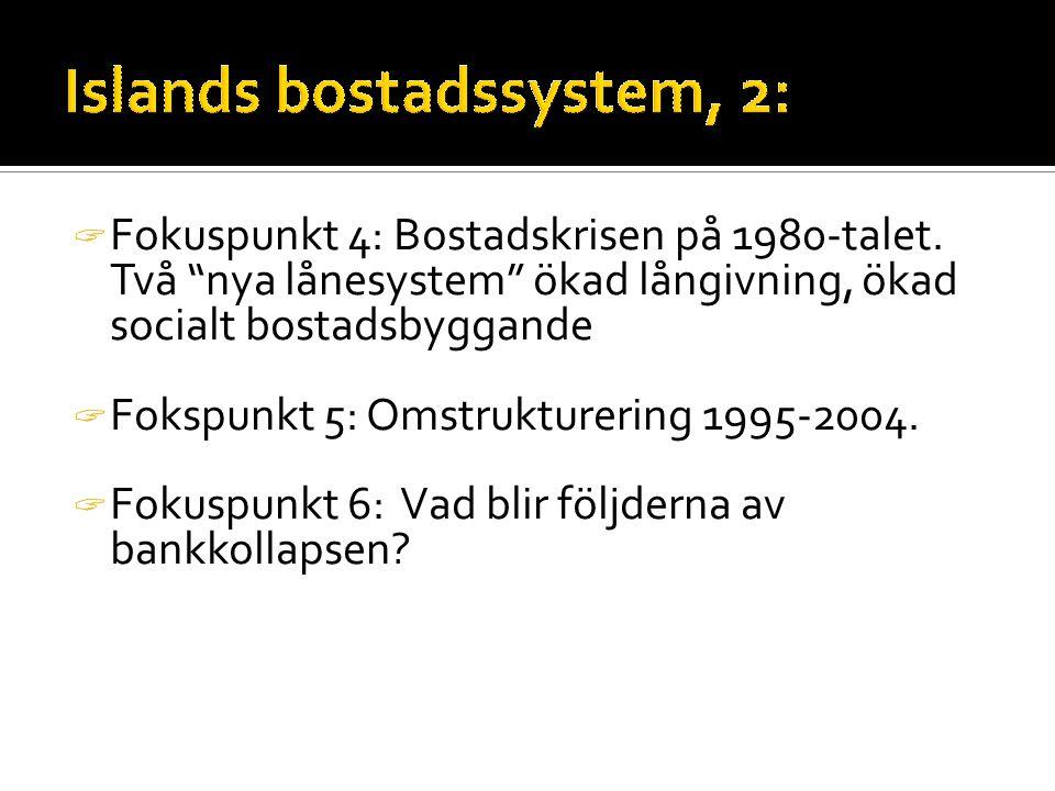  Fokuspunkt 4: Bostadskrisen på 1980-talet.