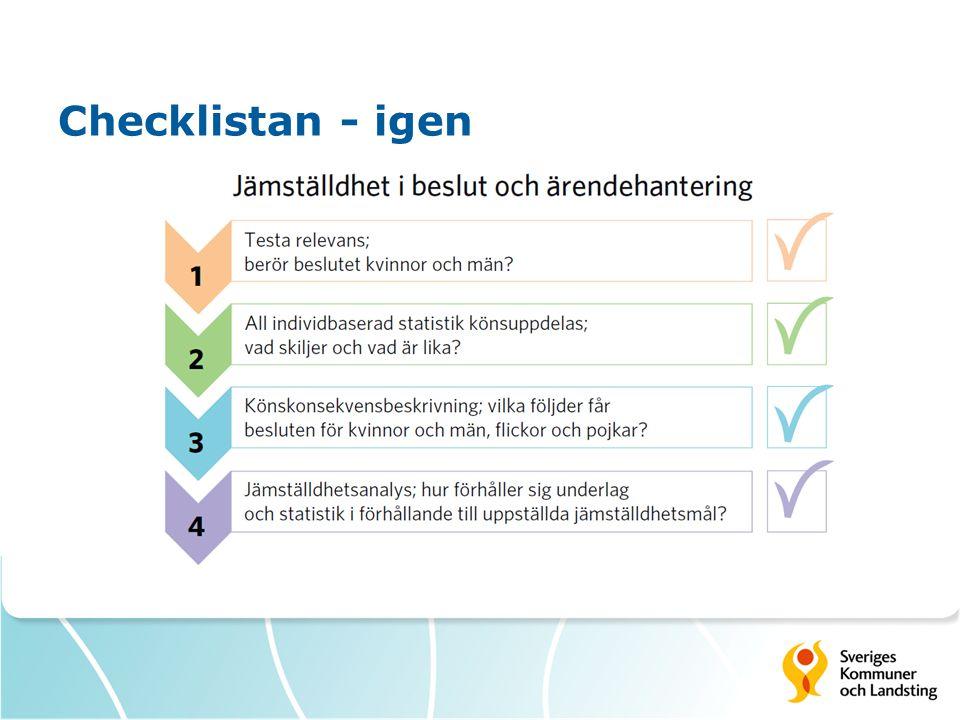Checklistan - igen