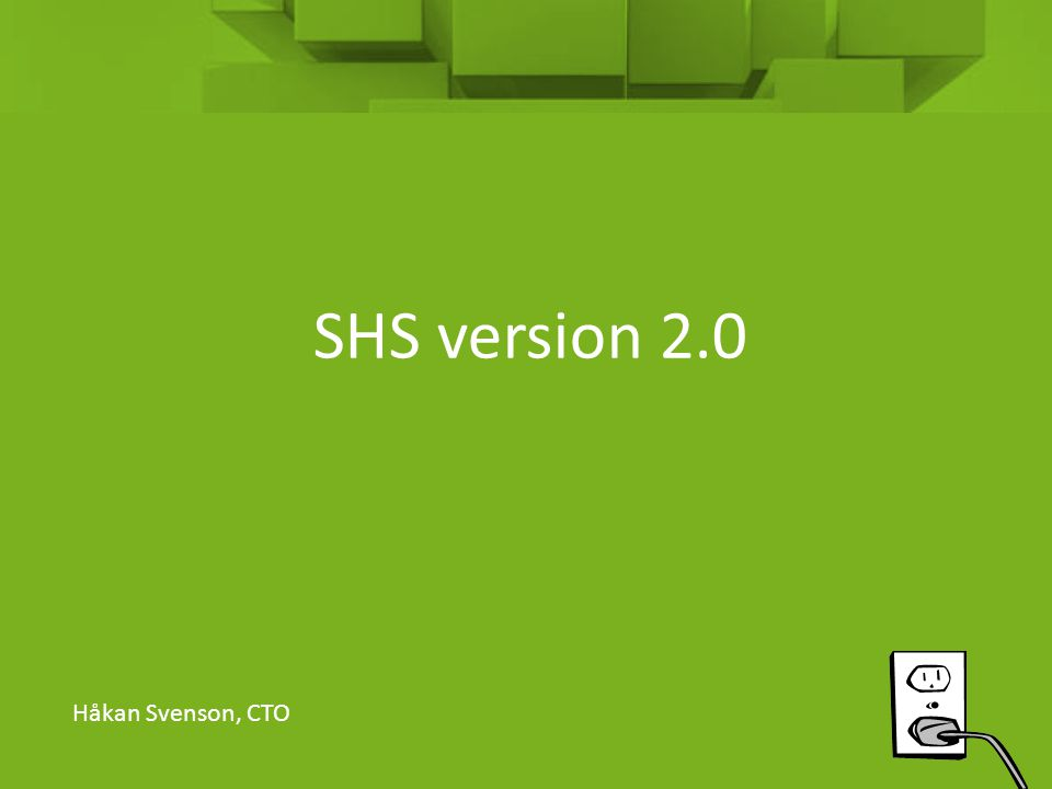 Produkttyper och adressering • SHS-label – Kan utelämnas.