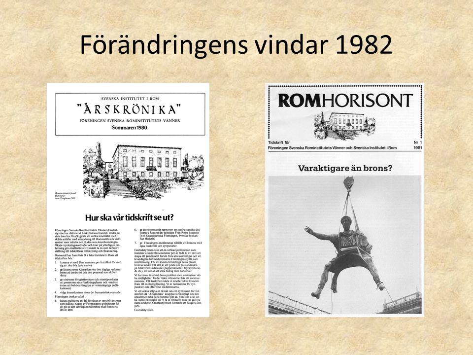 Förändringens vindar 1982