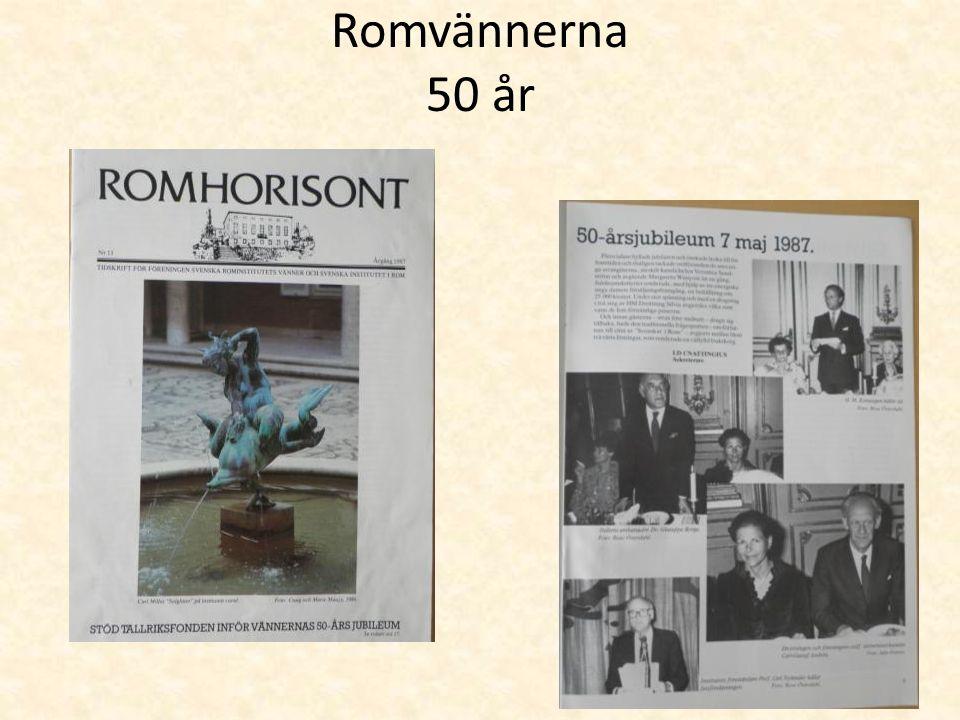 Romvännerna 50 år