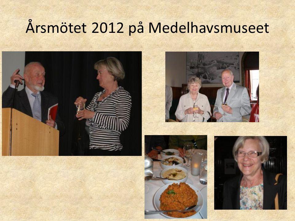 Årsmötet 2012 på Medelhavsmuseet