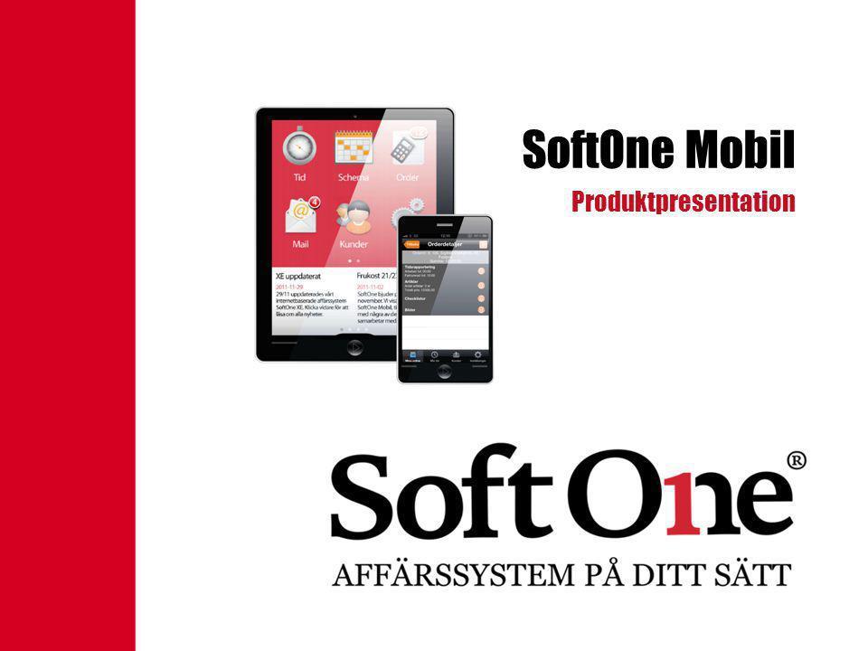 SoftOne Mobil Produktpresentation