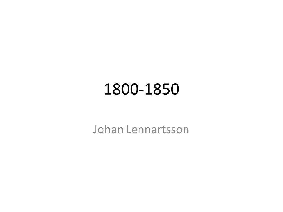 1800-1850 Johan Lennartsson
