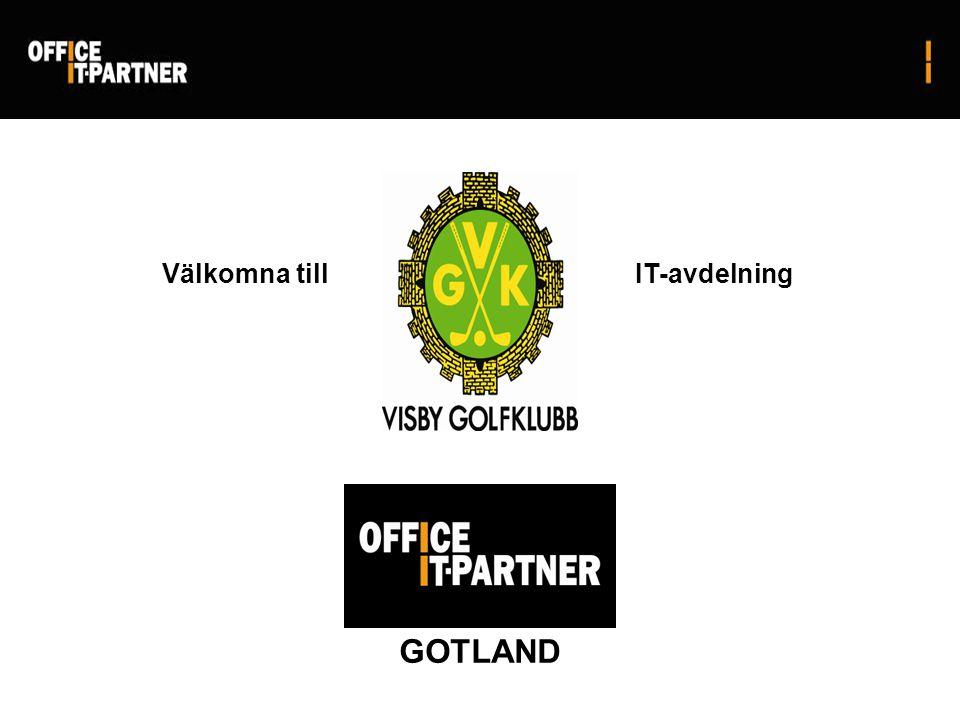 Välkomna till GOTLAND IT-avdelning