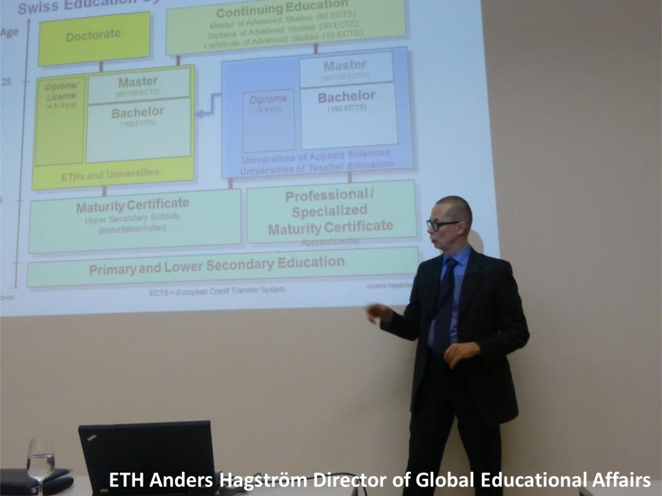 ETH Anders Hagström Director of Global Educational Affairs