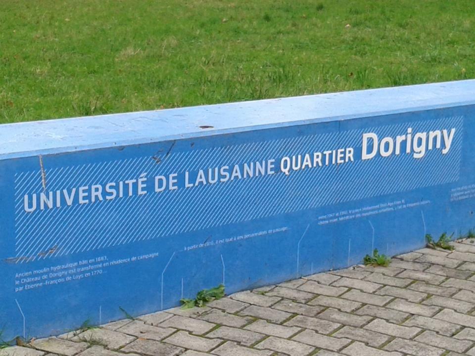 Université de Lausanne UNIL Tvärvetenskapligt universitet, grundat 1537 • 13 500 studerande • 2 700 forskare • 2 300 personal • 511 M CHF