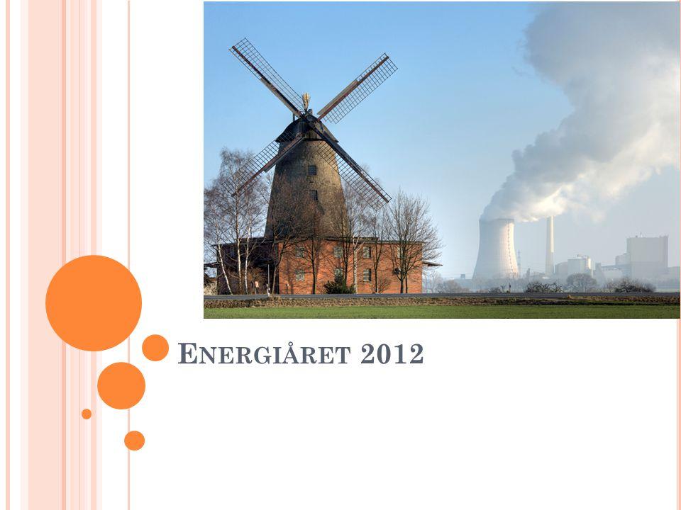 E NERGIÅRET 2012