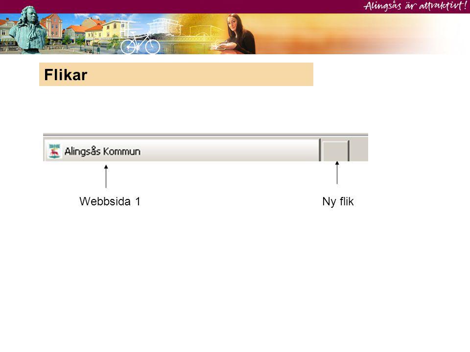 Webbsida 1Ny flik