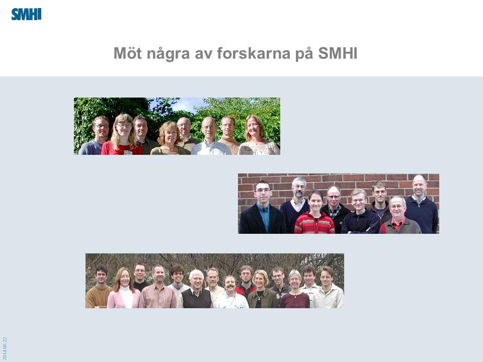 2014-06-22 Möt några av forskarna på SMHI