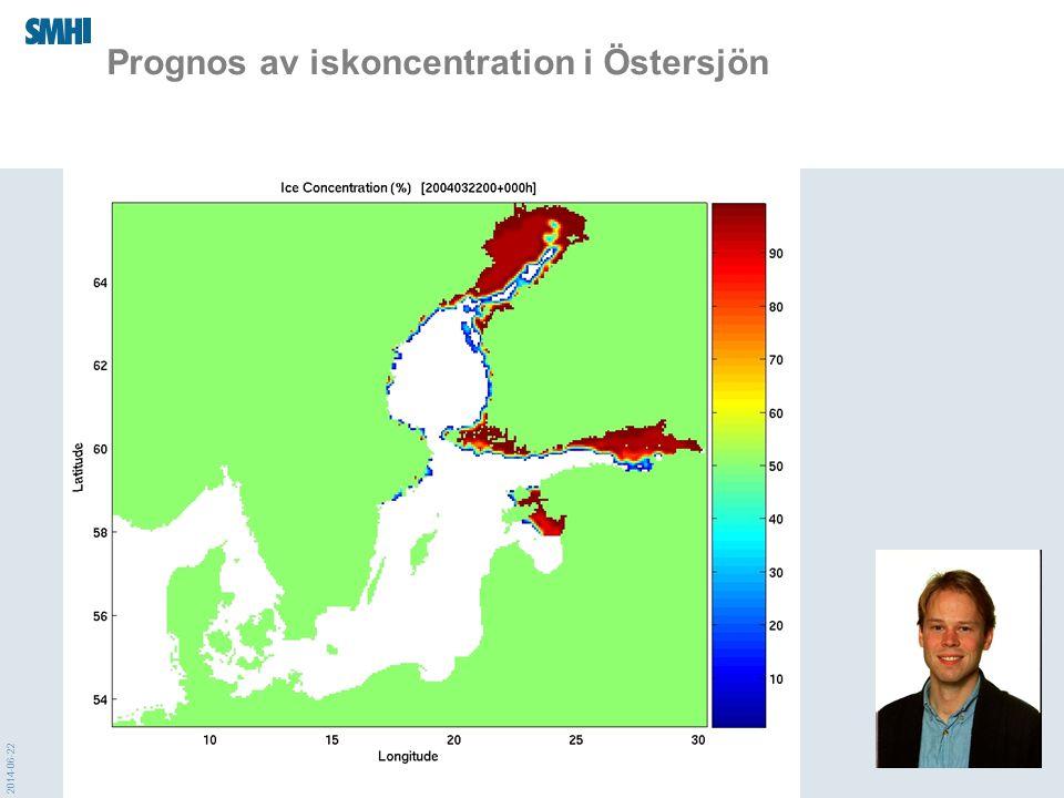 2014-06-22 Prognos av iskoncentration i Östersjön