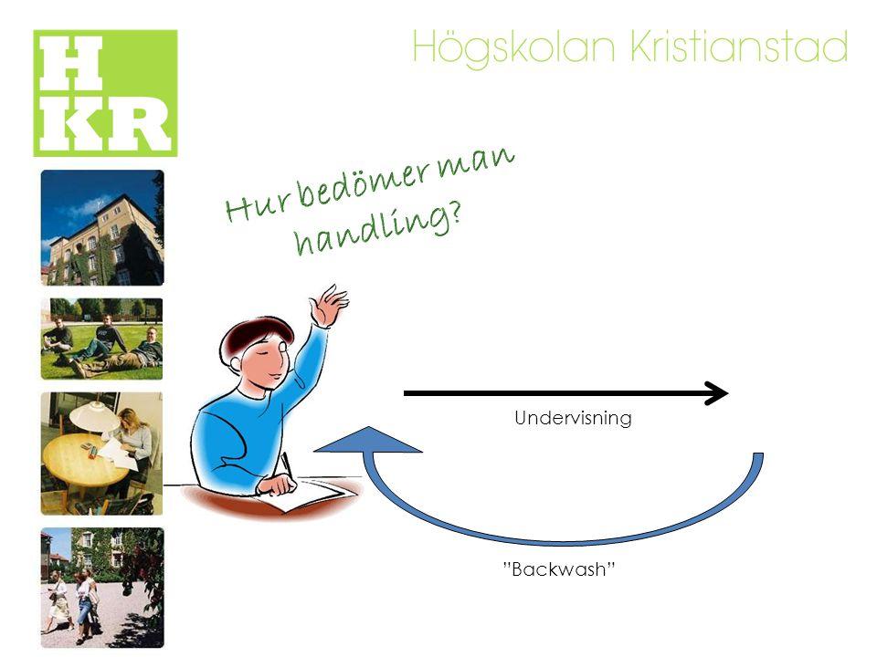 Undervisning Backwash