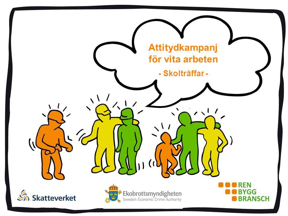 Attitydkampanj för vita arbeten - Skolträffar -