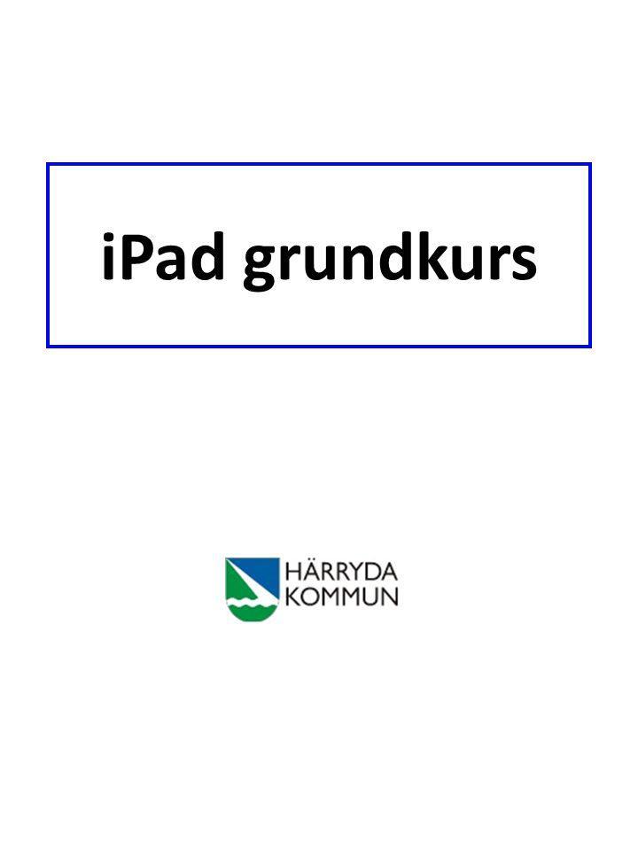 Tryck här för att radera din anteckning.iPaden kommer att fråga dig en extra gång om du är säker.