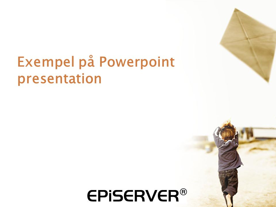 Exempel på Powerpoint presentation