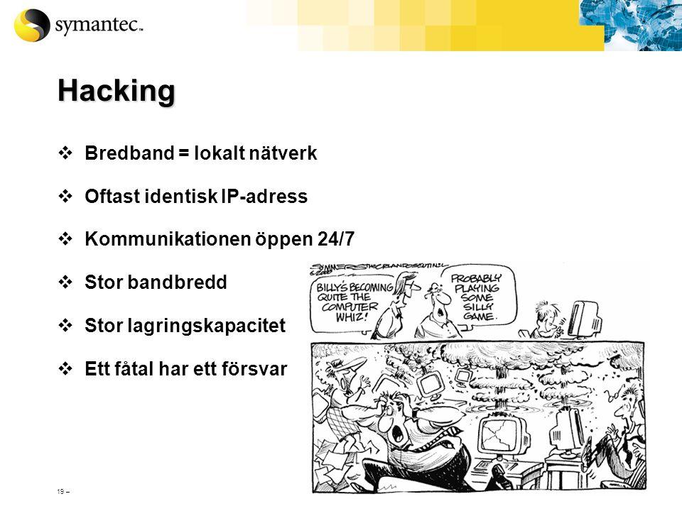 18 – Hackers