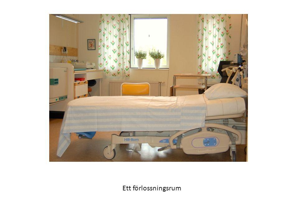 Ett förlossningsrum