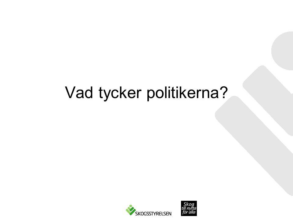 Vad tycker politikerna?