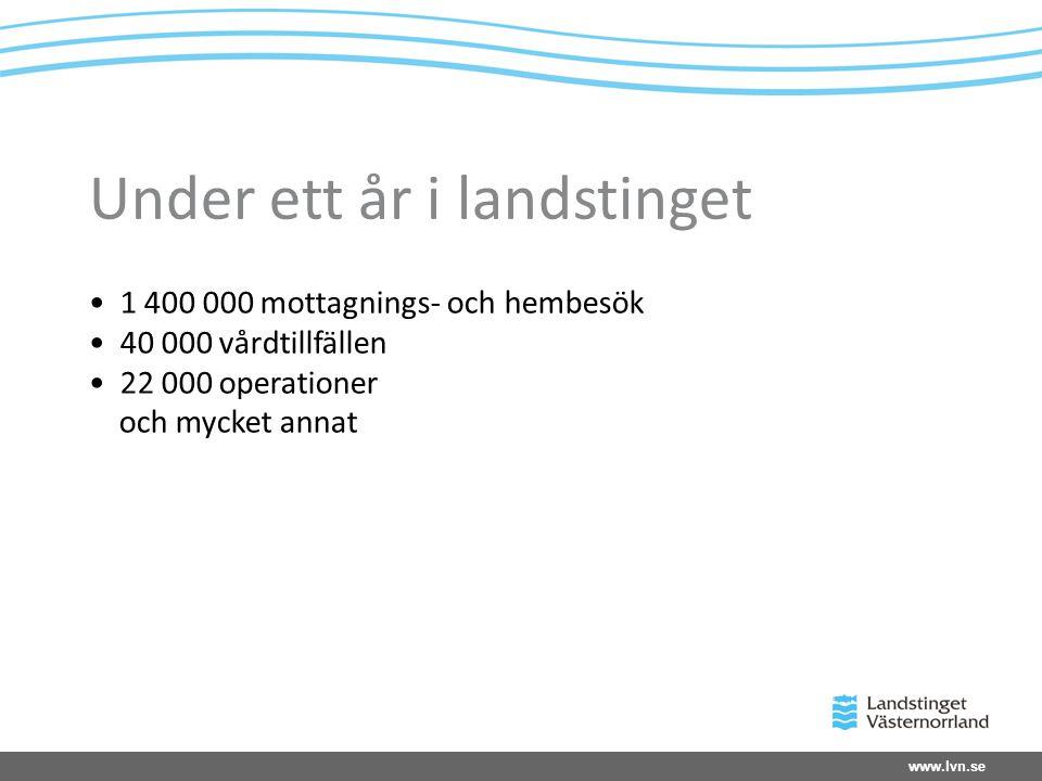 www.lvn.se Verksamheter 2010 - kostnader