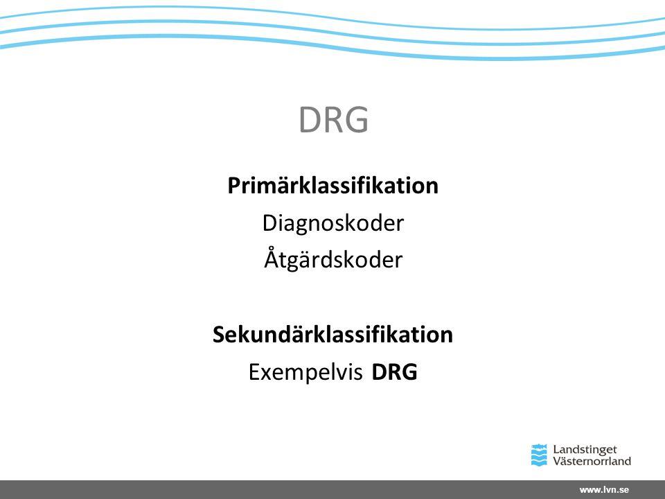 www.lvn.se Varför KPP (9 punktslistan) •Ledning & Styrning •Framtagande av viktlista •Bättre kostnadskontroll •Möjliggöra kostnadsanalys för patient, drg m.m.