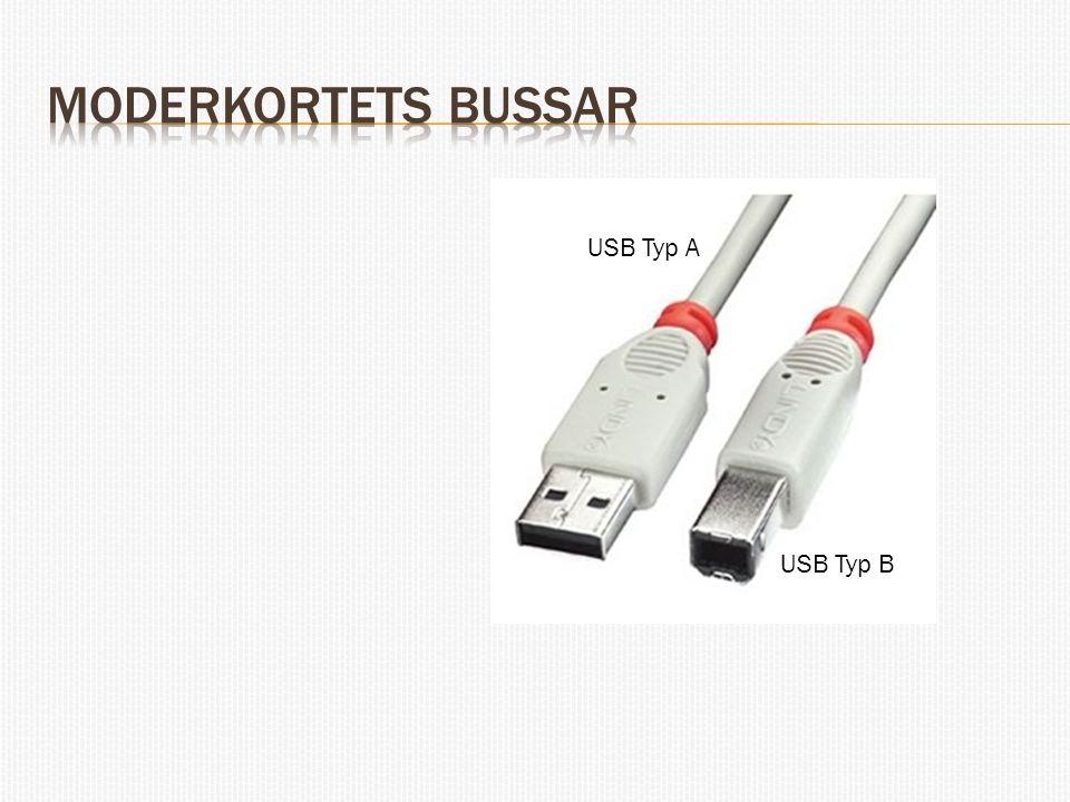 USB Typ A USB Typ B