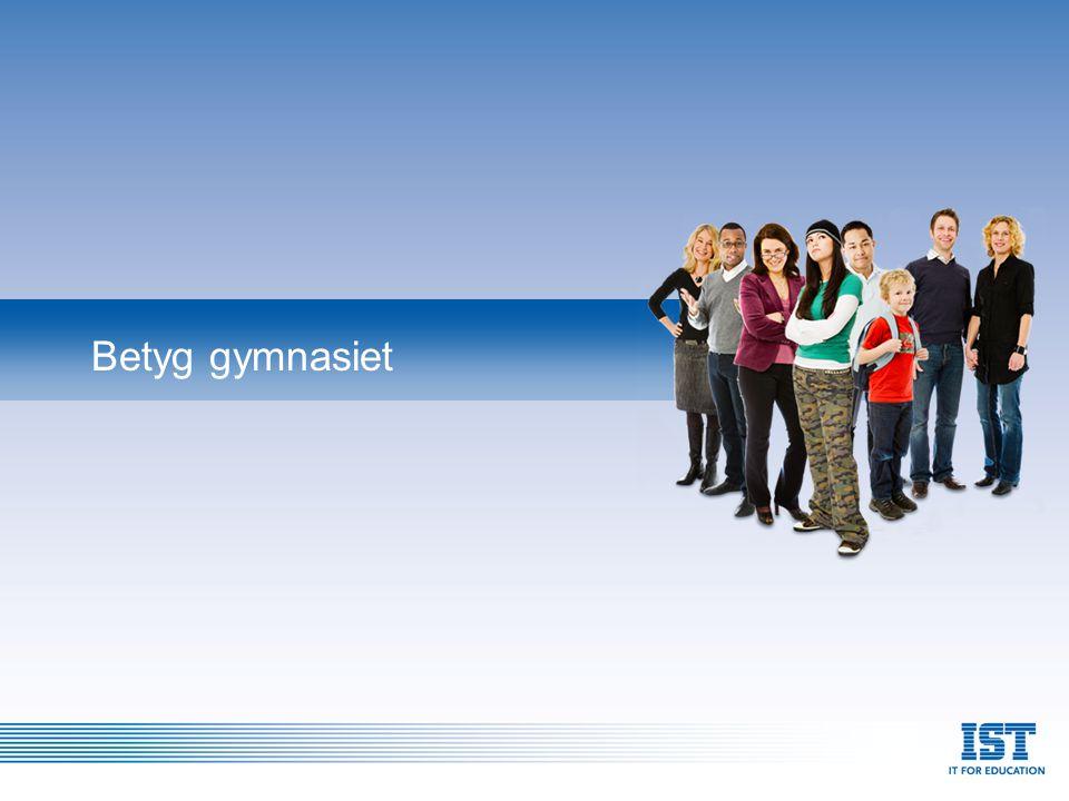 Skolverkets föreskrifter om betygskatalog för gymnasieskolan beslutat den 15 oktober 2007 Skolverket föreskriver följande med stöd av 7 kap.