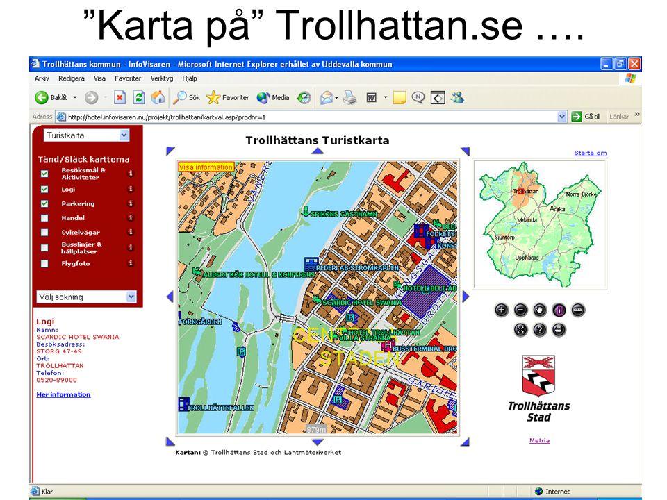 """Karta på"" Trollhattan.se …."