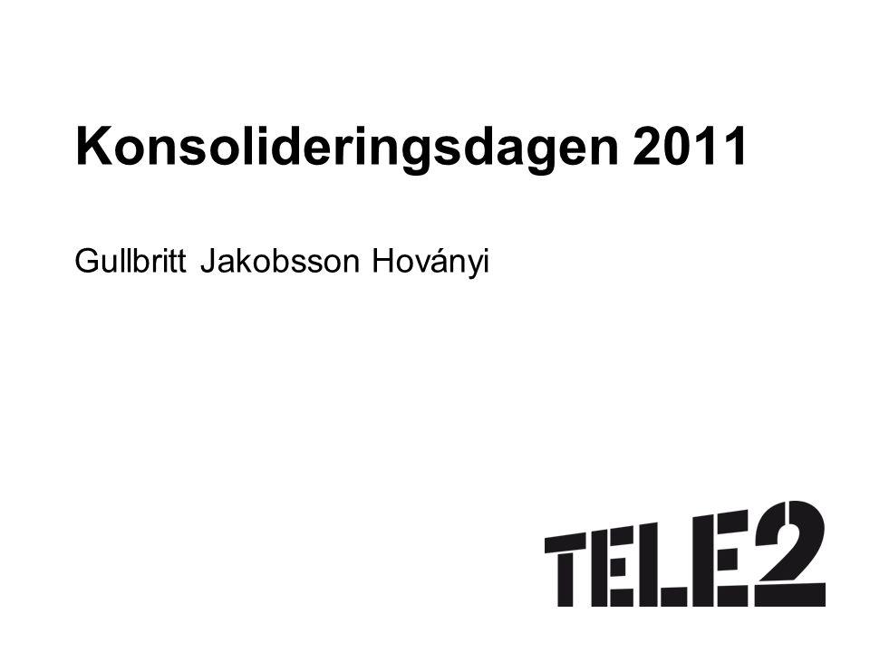 Konsolideringsdagen 2011 Gullbritt Jakobsson Hoványi