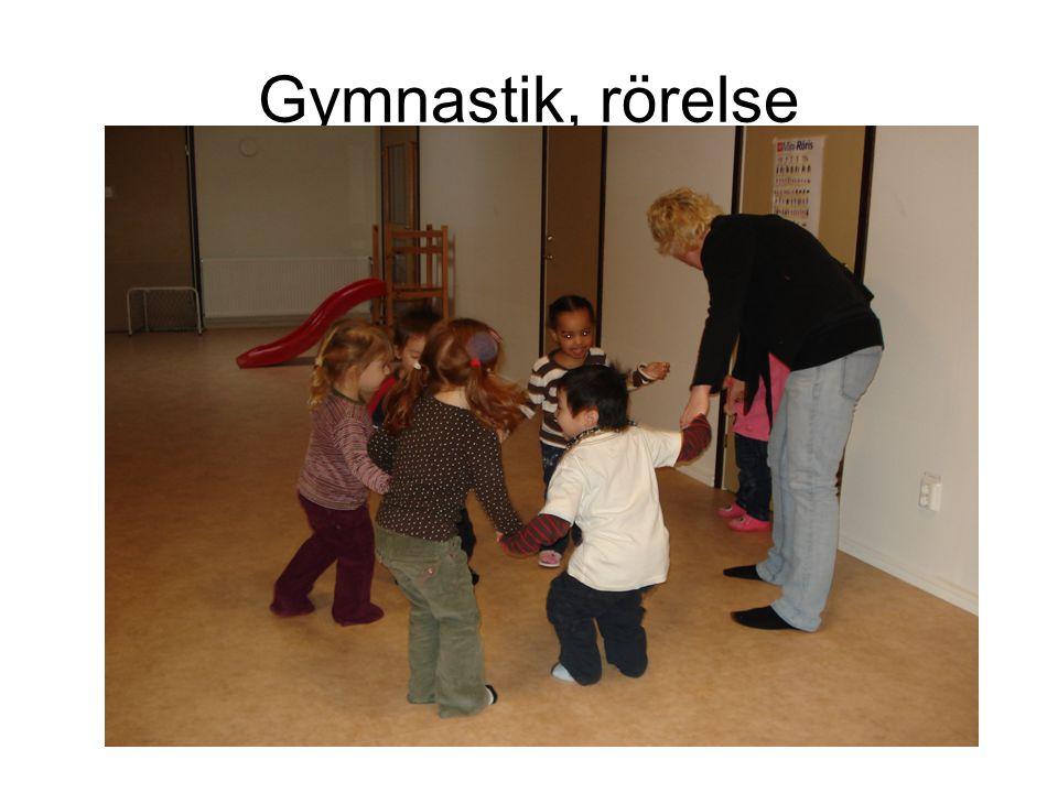Gymnastik, rörelse