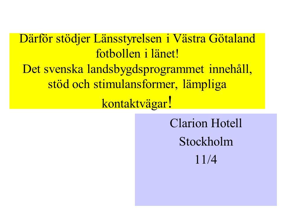 Så här mycket pengar är det i Västra Götaland för 2007-2008.