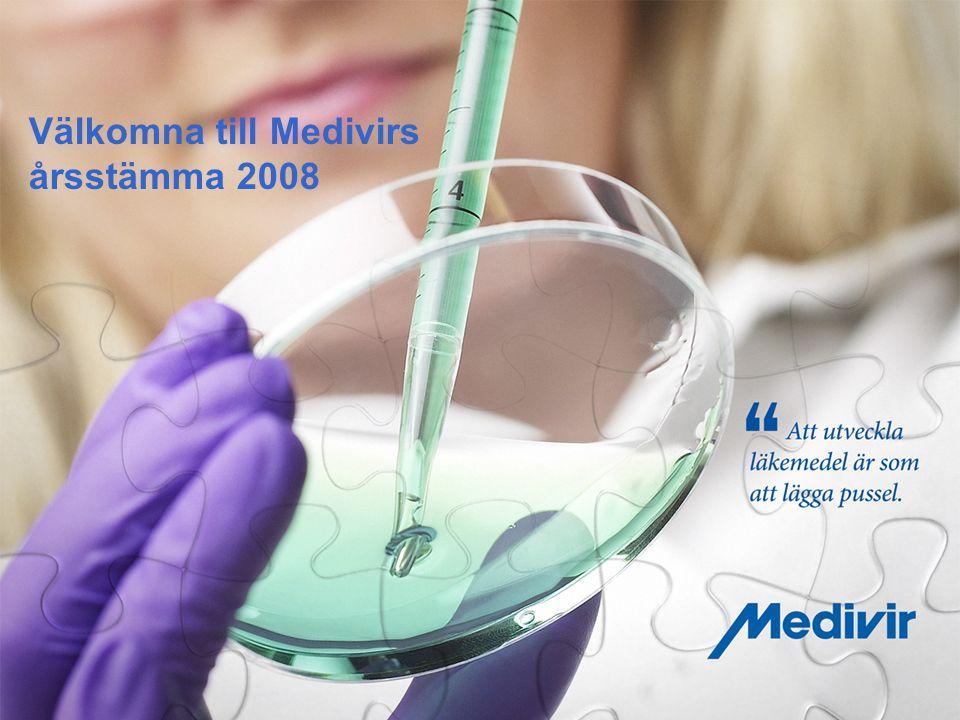 Välkomna till Medivirs årsstämma 2008