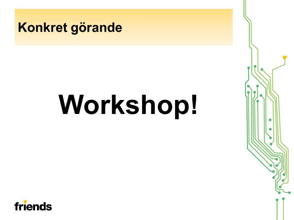 Workshop! Konkret görande