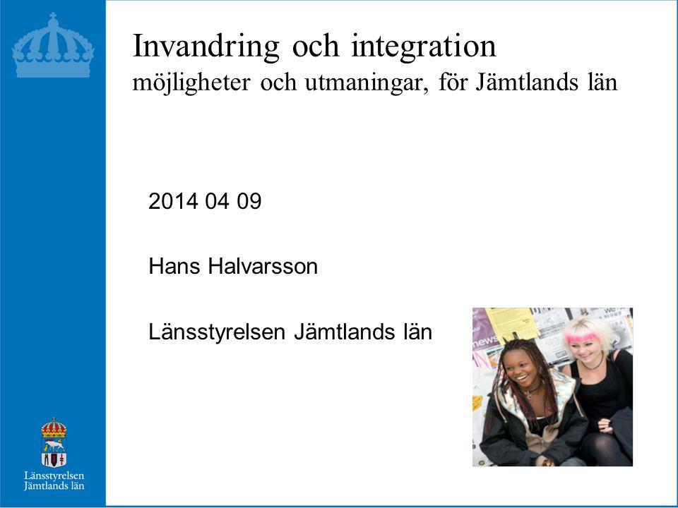 Flytt och födelsenetto Jämtlands län 1990 - 2013