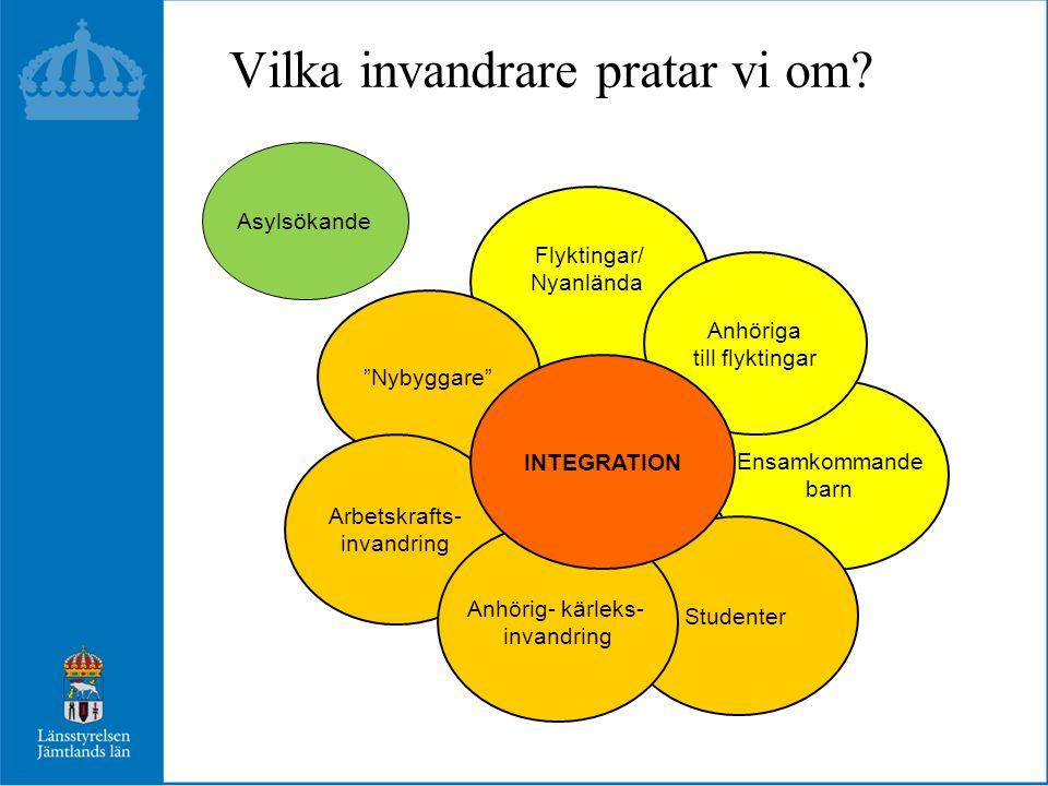 Uppehållstillstånd och uppehållsrätter i Sverige 2013