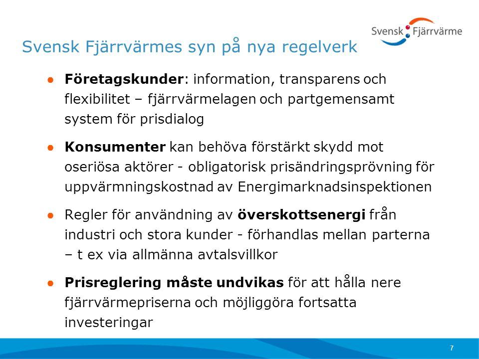 Tack för uppmärksamheten! Ulrika.jardfelt@svenskfjarrvarme.se www.svenskfjarrvarme.se