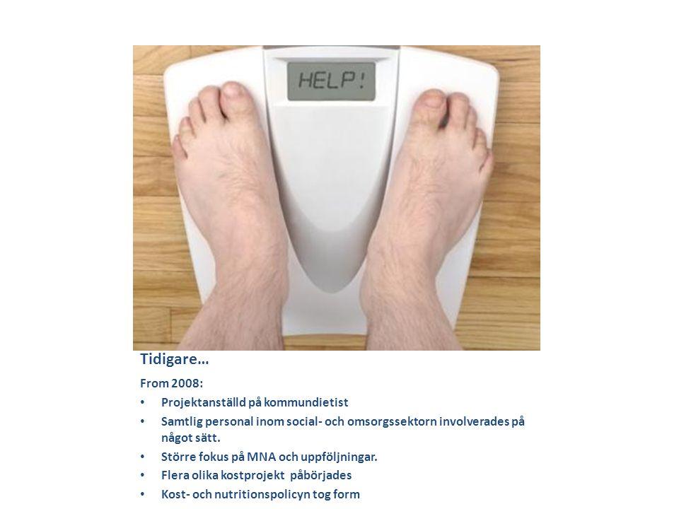 Fortsättning åtgärder • Underlättande av ätande och sväljning • Träning i att äta och dricka • Nutritionsbehandling • Person avböjer förebyggande åtgärd - undernäring • Avböjer åtgärd för person i livets slutskede - undernäring