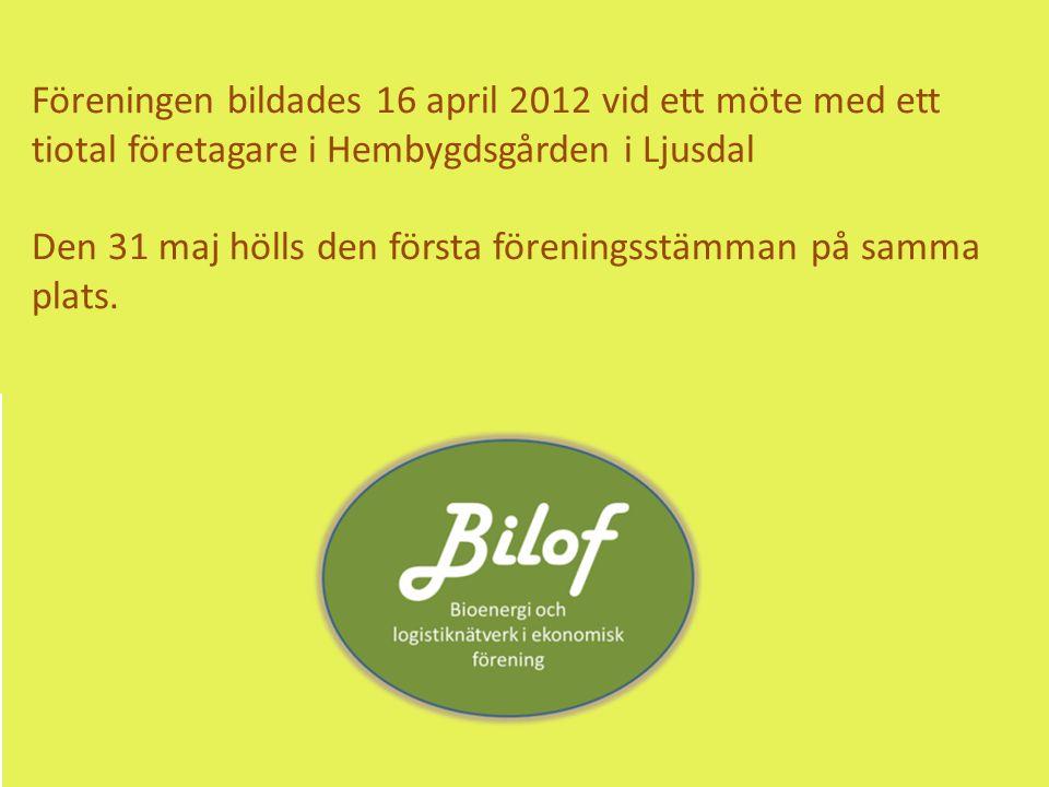 Föreningen bildades 16 april 2012 vid ett möte med ett tiotal företagare i Hembygdsgården i Ljusdal Den 31 maj hölls den första föreningsstämman på samma plats.
