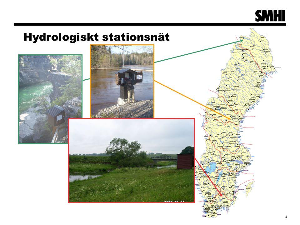 4 Hydrologiskt stationsnät