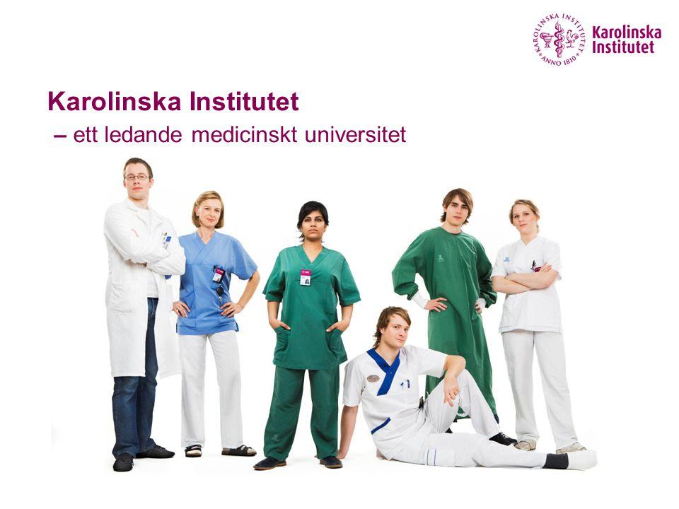 Karolinska Institutet – ett ledande medicinskt universitet