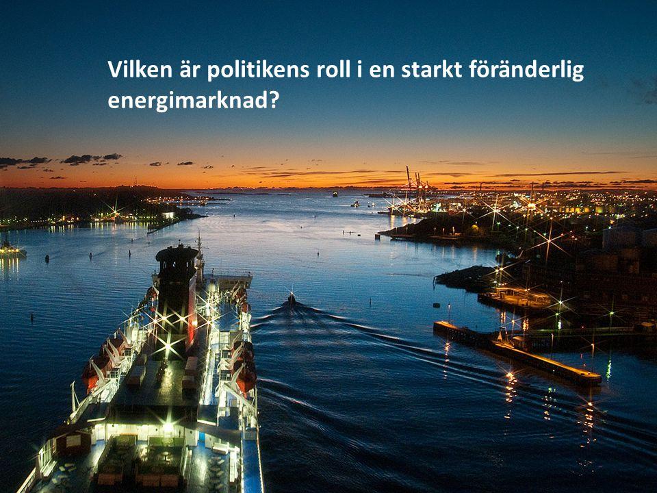 HVDC och bilder Vilken är politikens roll i en starkt föränderlig energimarknad