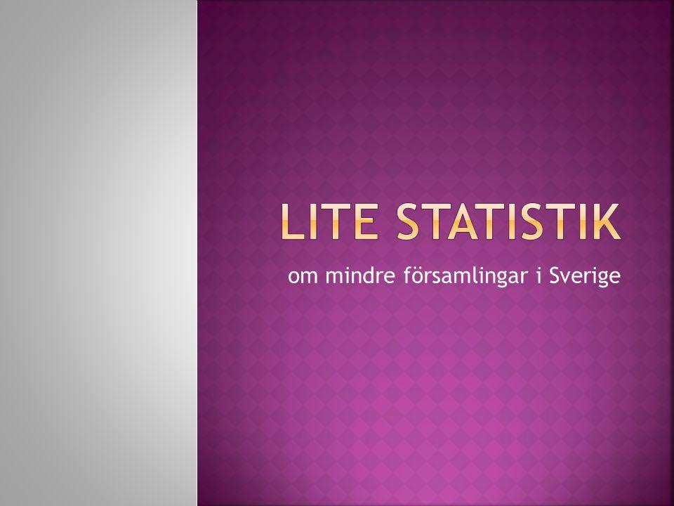 om mindre församlingar i Sverige