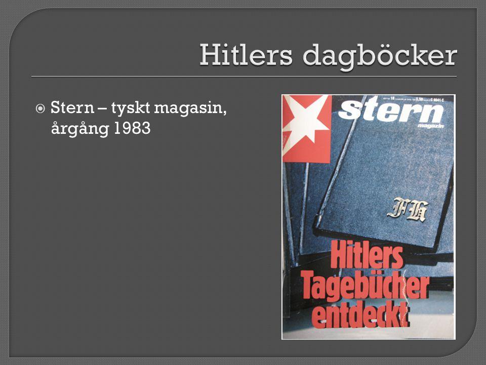  Stern – tyskt magasin, årgång 1983