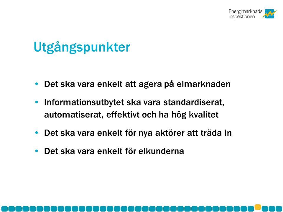 Särskilda frågor att beakta •Nordisk slutkundsmarknad •Revideringar av mätföreskriften till följd av NELGA