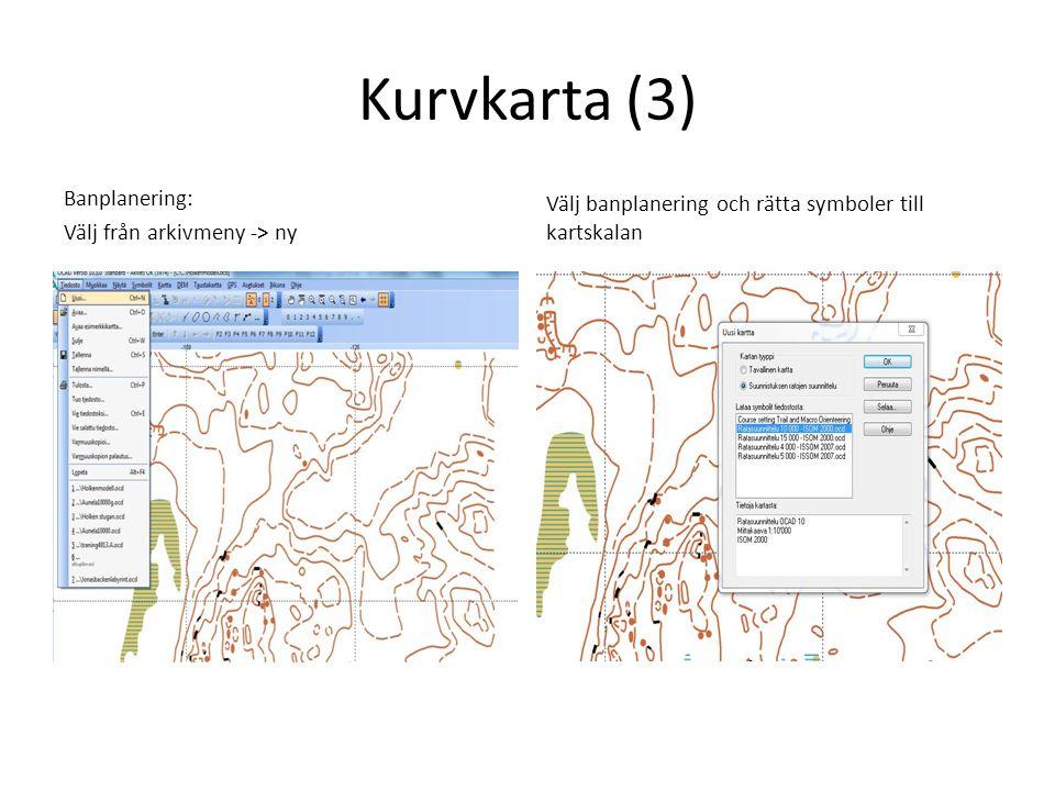 Vit karta, kompassträning • Rita vita rektanglar för att måla kartan vit