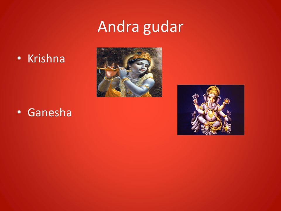 Andra gudar • Krishna • Ganesha