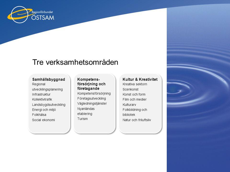 Tre verksamhetsområden Kompetens- försörjning och företagande Kompetensförsörjning Företagsutveckling Vägledningstjänster Nyanländas etablering Turism