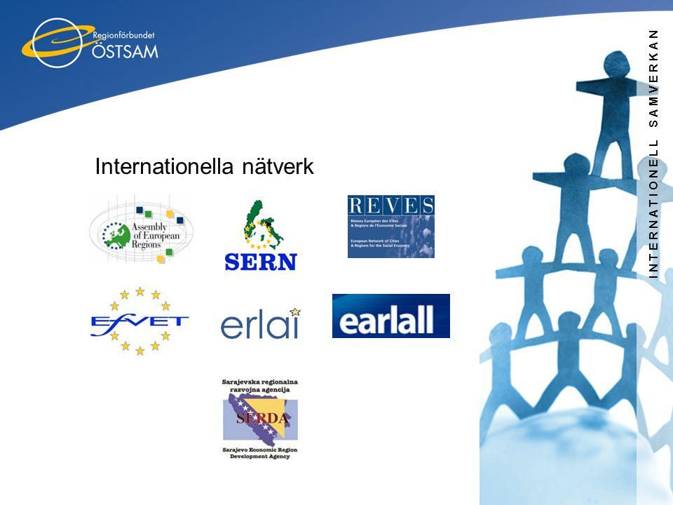 INTERNATIONELL SAMVERKAN Internationella nätverk