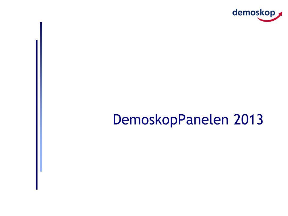 DemoskopPanelen 2013